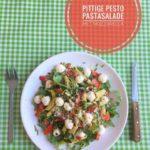 Pittige Pesto Pastasalade met Mozzarella