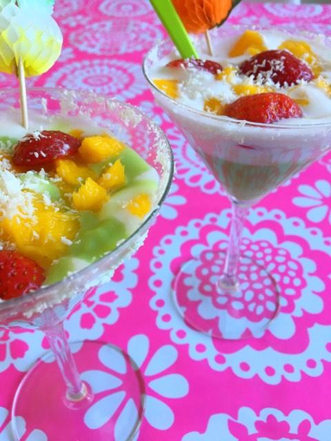 thai custard mix pandan flavour