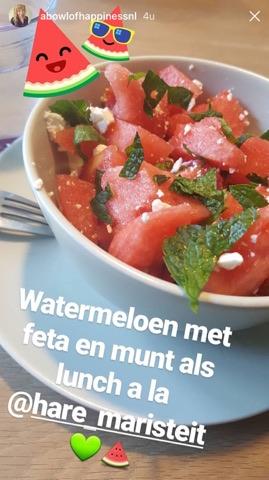 watermeloen feta