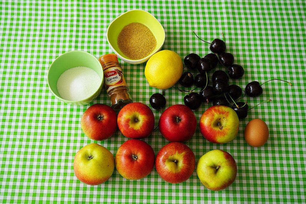 tarte tatin appels kersen