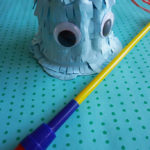 DIY Pacman Pudding Piñata
