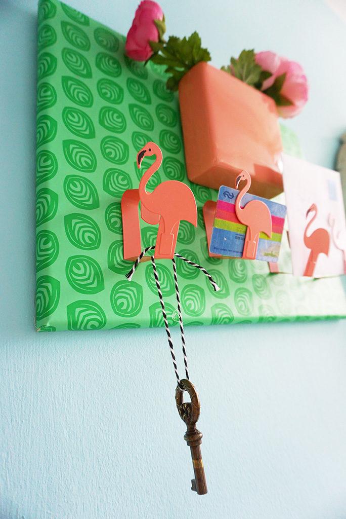 DIY sleutelrekje