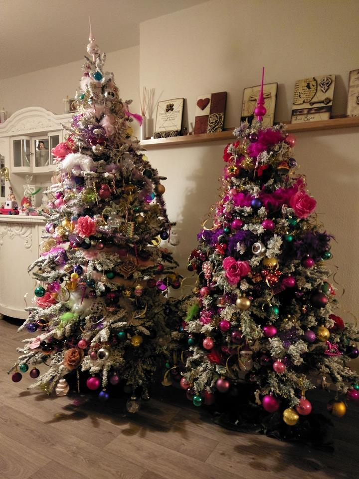 kitsch kerstbomen