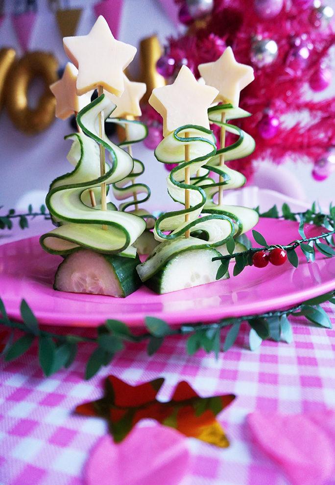 Kerstboompjes van Komkommer & Kaas