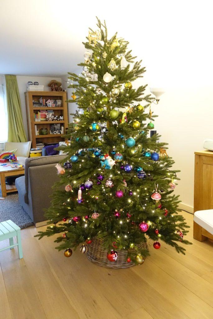 kerstboom ombre