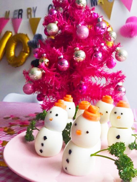 sneeuwpoppen van ei