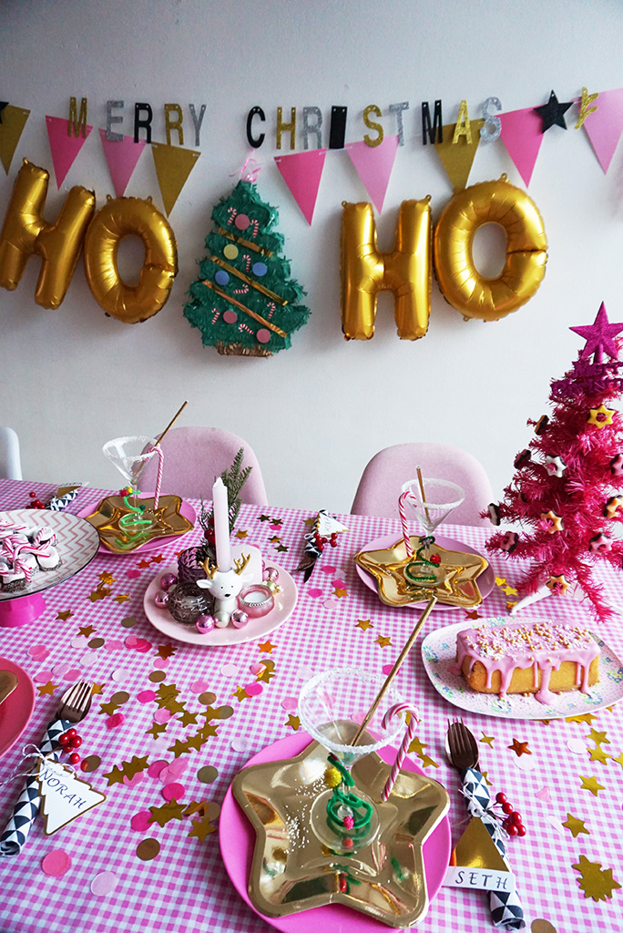 tafelstyling roze goud xenos