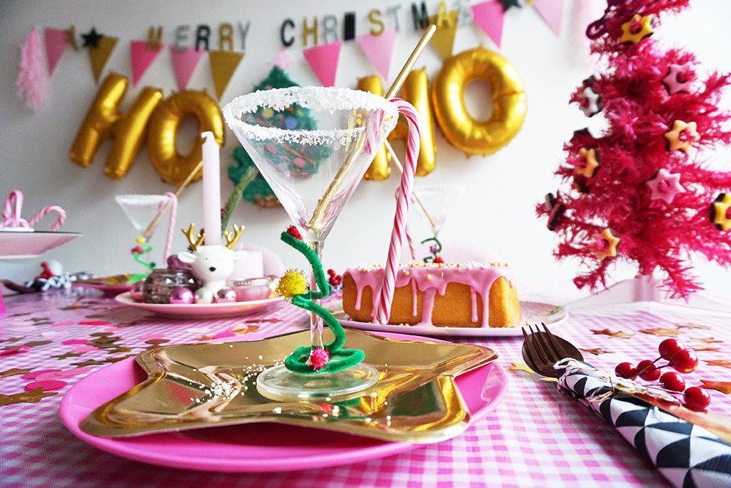 roze goud tafelstyling