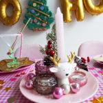 Stylingtips voor een Kersttafel met Roze & Goud