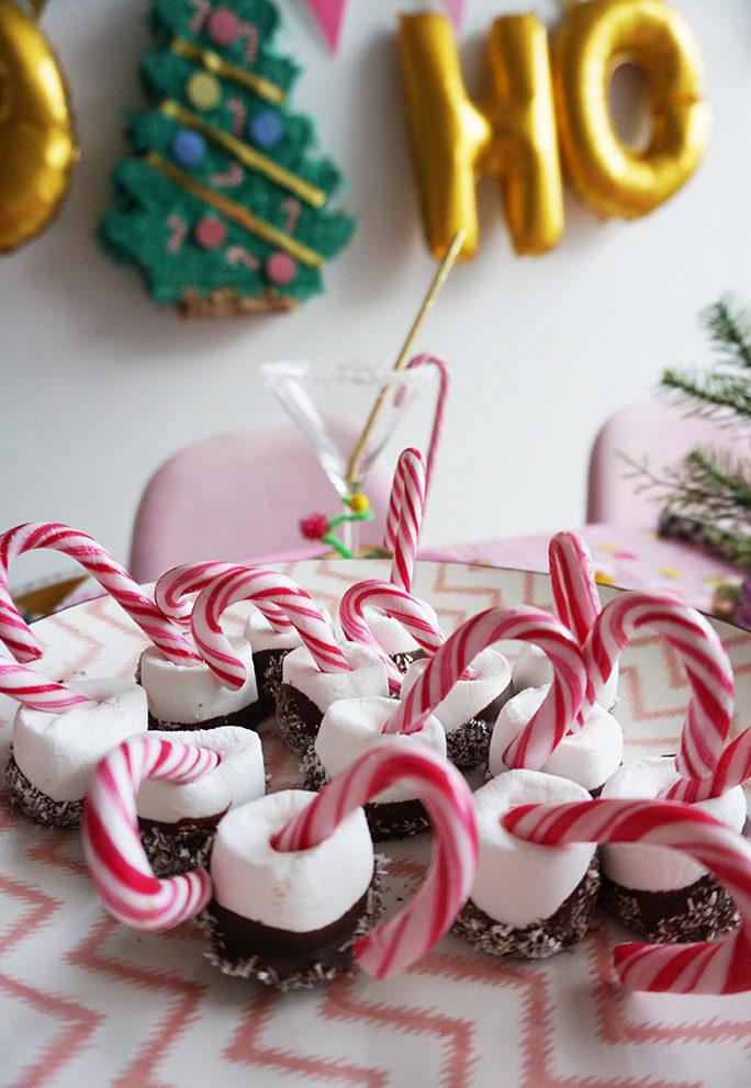 Xmas Treat: Marshmallows & Candy Canes