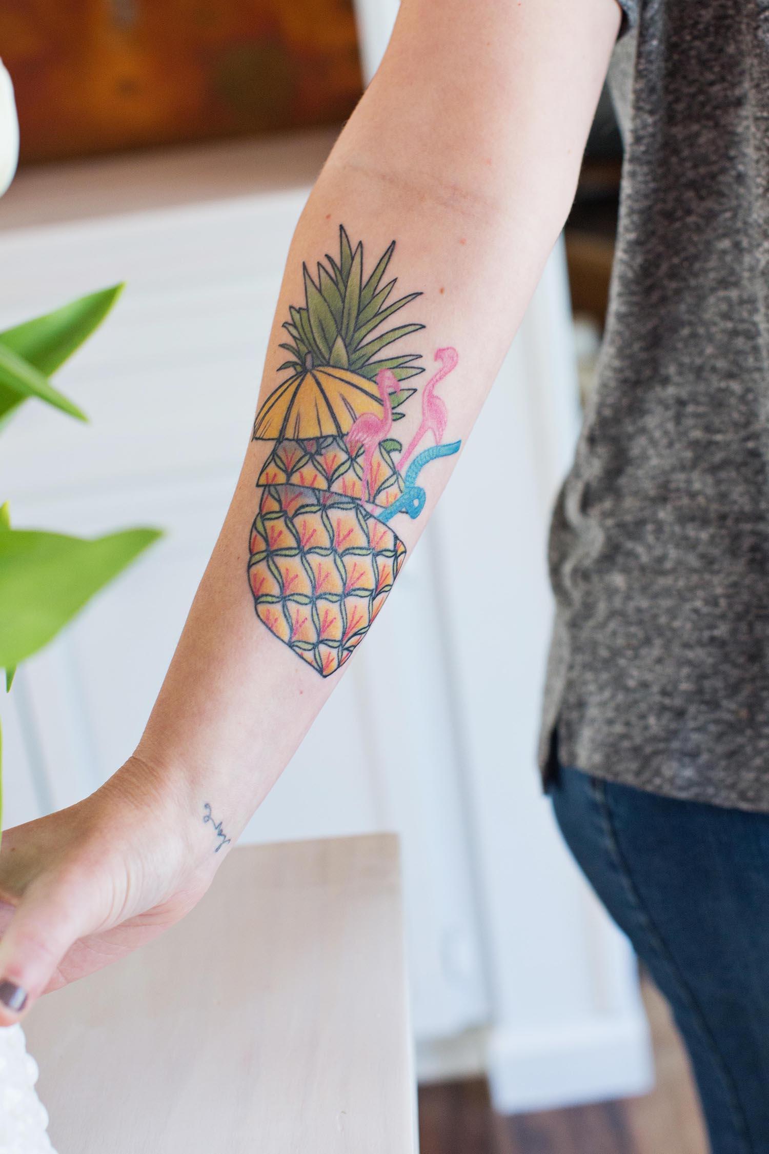 tattoo pineapple