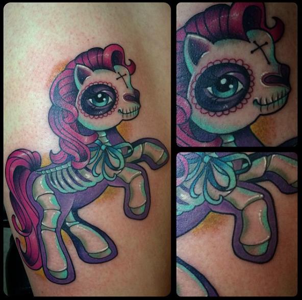 my little pony tattoo