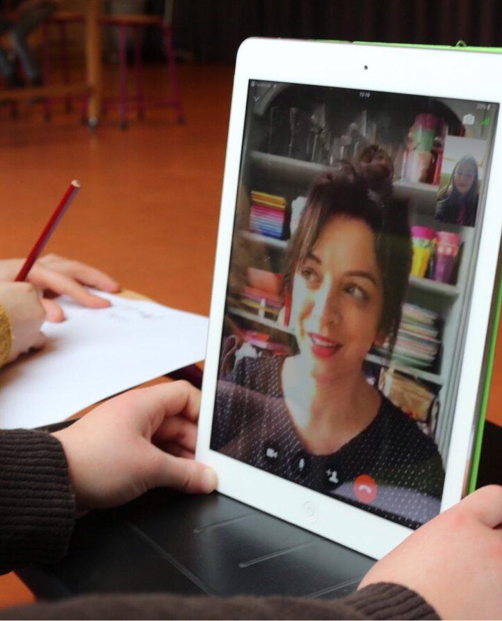 Basisschoolleerlingen Interviewen een Bekende Blogger