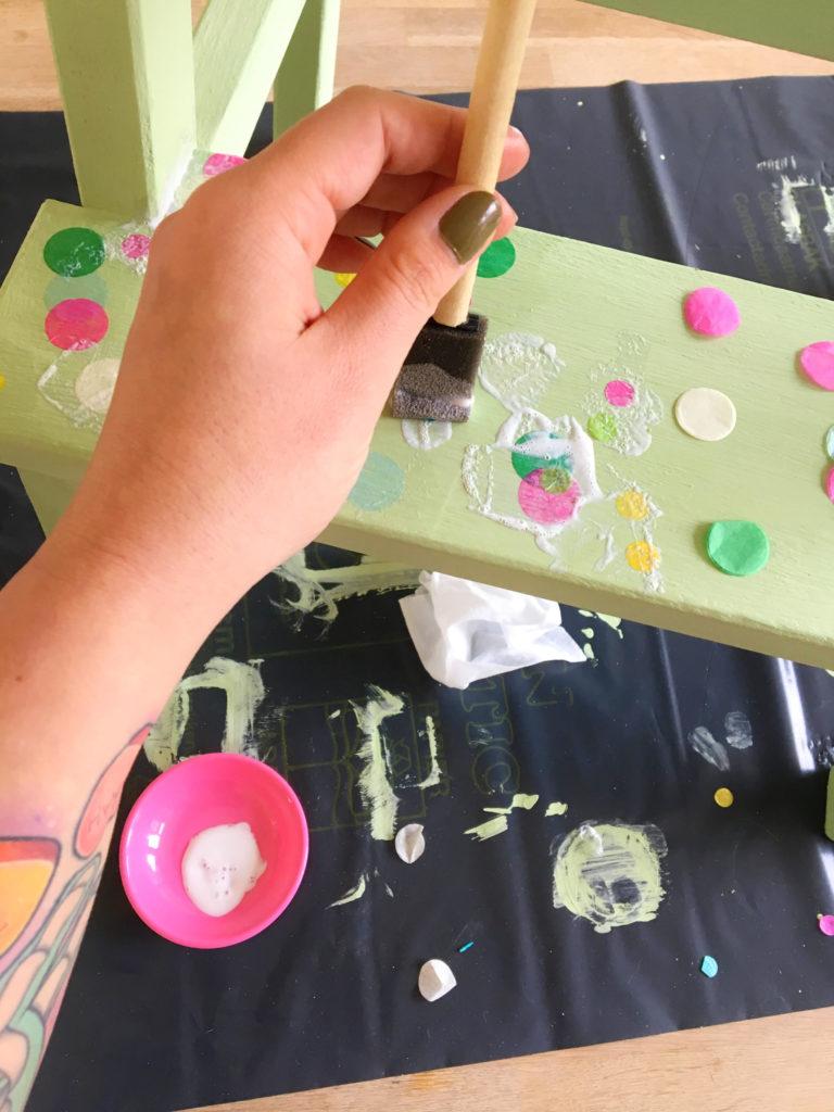 confetti krukje