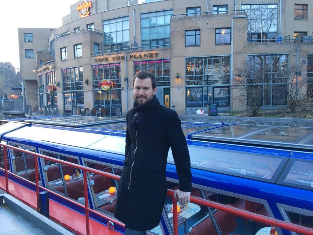 rondvaart Hard Rock Burger Amsterdam