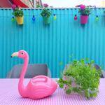DIY: Golfplaat in de tuin schilderen met Chalk Paint