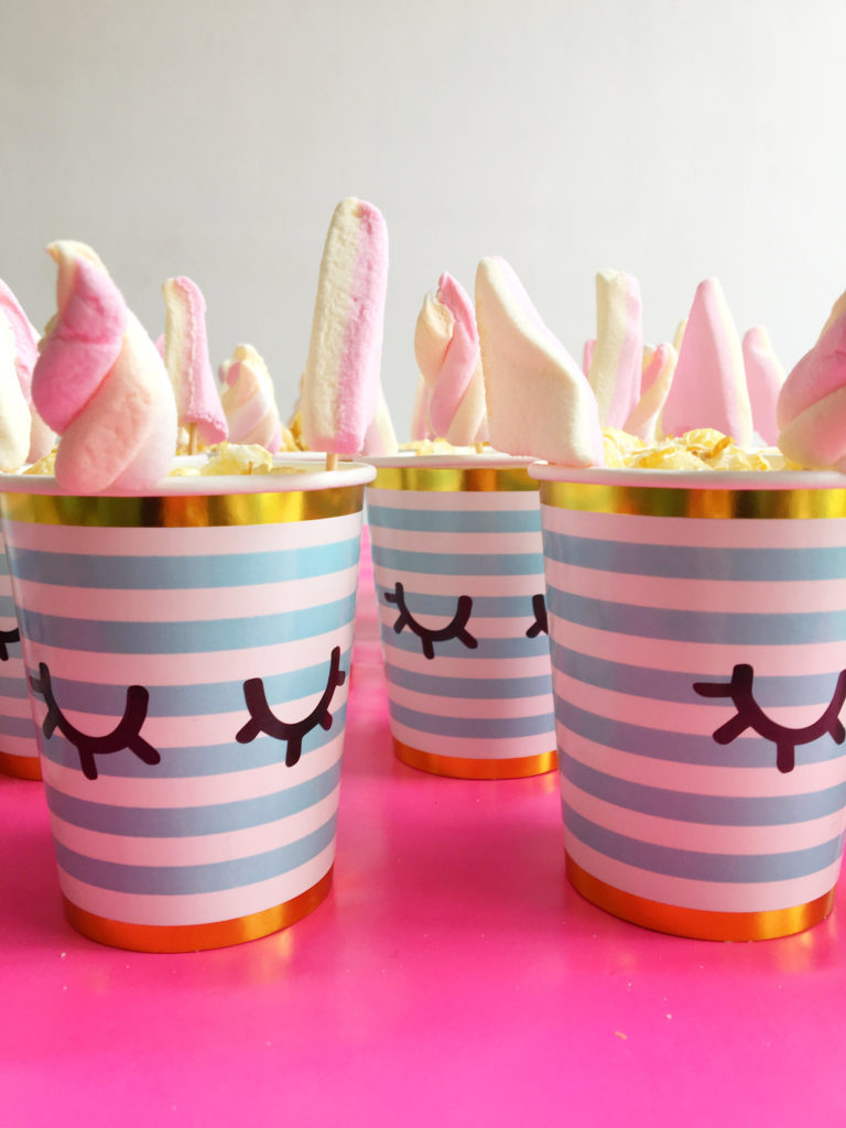 unicorn popcorn bekers