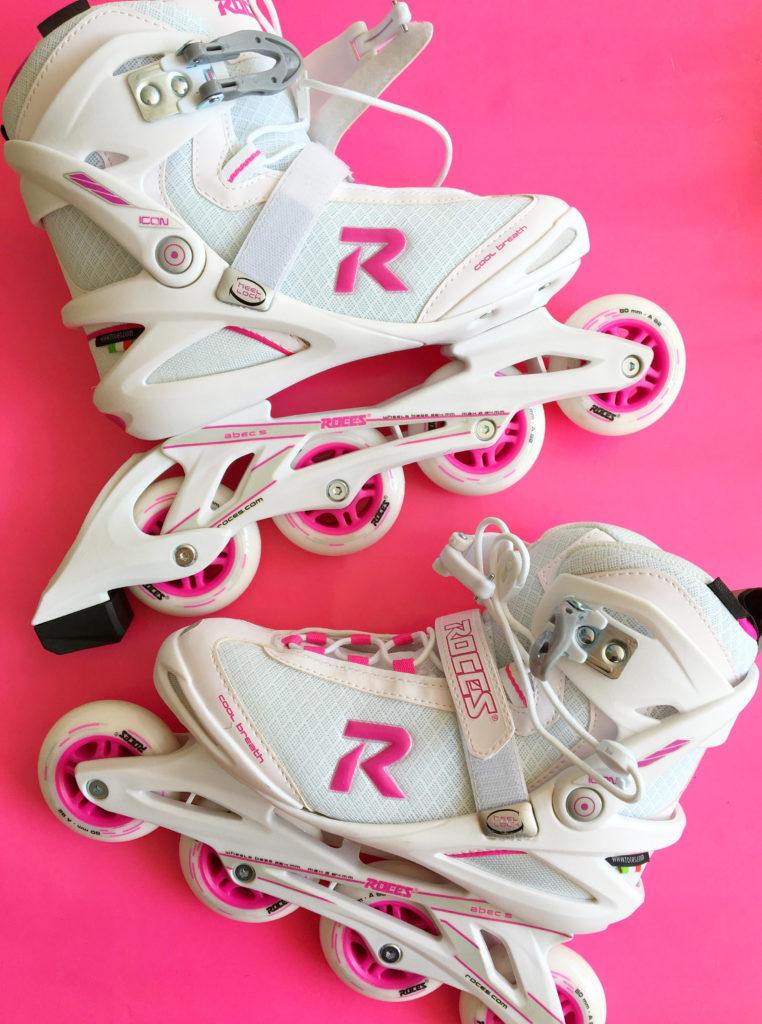roze skates Roces