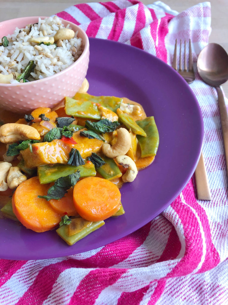 vegan proof snelle curry