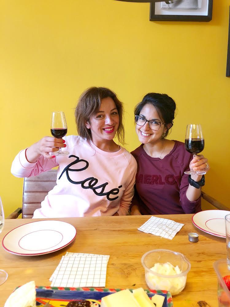 rose & merlot sweaters
