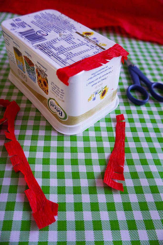 DIY Lieveheersbeestje Pinata Lampion