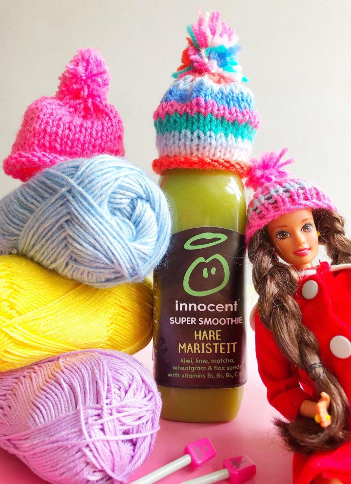 DIY: Kleine Mutsjes Breien voor Barbies + Goed Doel!