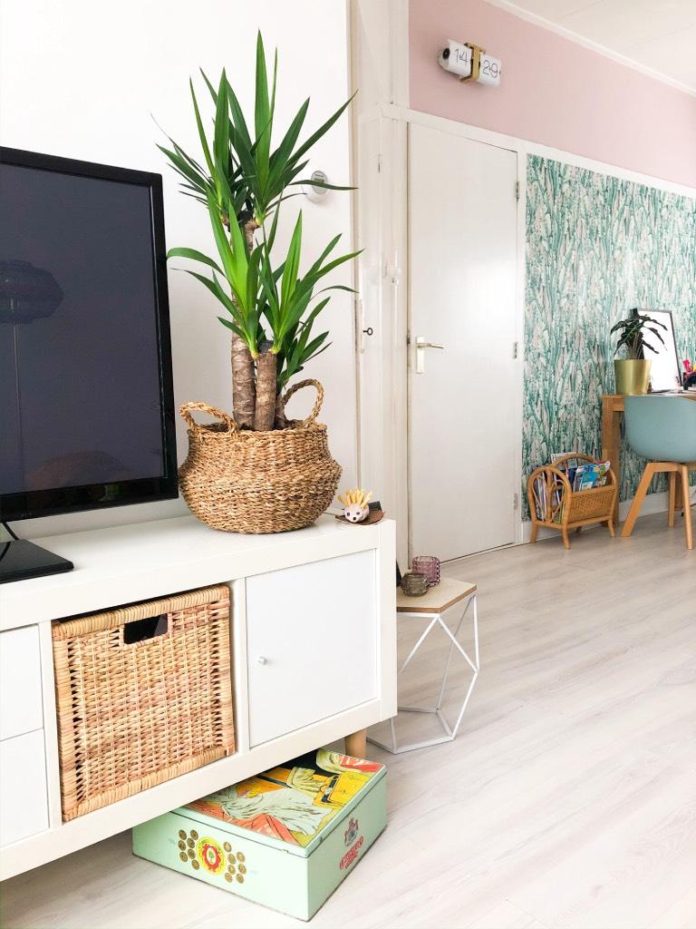 Witte Tv Kast Ikea.Snelle Make Over Van Ikea Kallax Expedit Tv Meubel