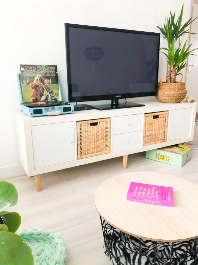 Tv Kast Meubel Ikea.Snelle Make Over Van Ikea Kallax Expedit Tv Meubel