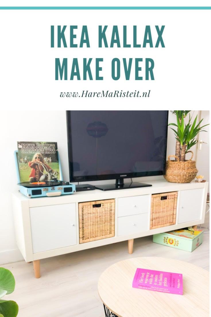 Ikea Boekenkast Tv Meubel.Snelle Make Over Van Ikea Kallax Expedit Tv Meubel