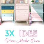 3 x idee voor IKEA TARVA Ladekast Make Over
